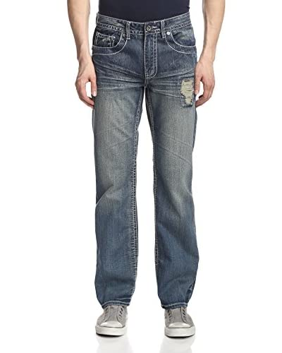 Antique Rivet Men's Ray Relaxed Fit Jean