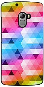 Inktree Back Cover For Lenovo K4 Note (Multicolor)