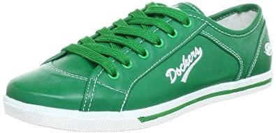 Dockers by Gerli 326100-340767, Damen Sneaker, Grün (grün), EU 36