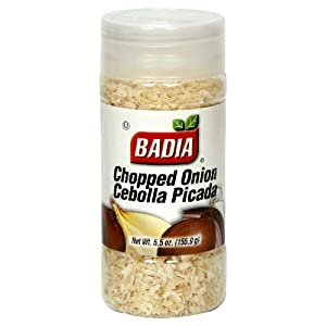 Badia Onion Chopped, 5.5-Ounce (Pack of 6)