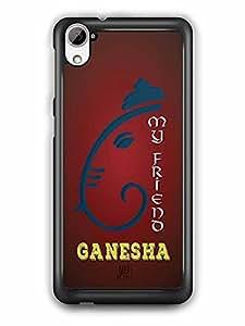 YuBingo My Friend Ganesha Designer Mobile Case Back Cover for HTC Desire 826