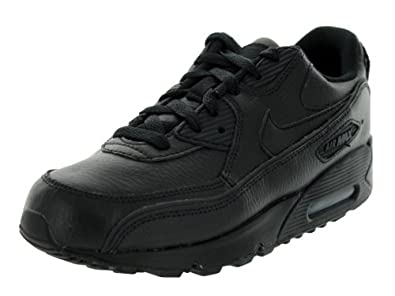 Nike Kids Air Max 90 (PS) Black/Black Running Shoe 3 Kids US