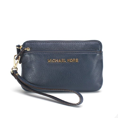 Michael Michael Kors Bedford Medium Wristlet Wallet, Navy