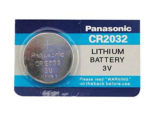 Panasonic CR2032 - Batterie al litio a bottone, 3 V, confezione da 4