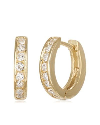 Bliss Swarovski Elements 2.2 Cttw Huggie Earrings As You See