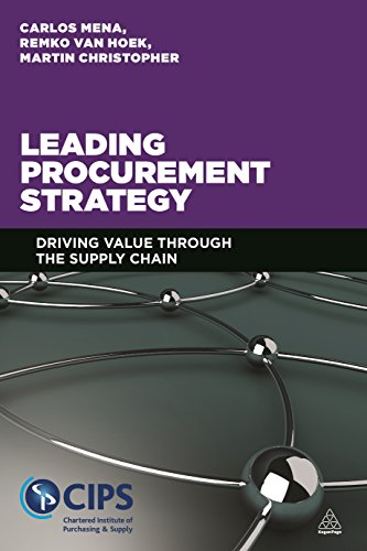 Leading Procurement Strategy: Driving Value Through The Supply Chain front-524309