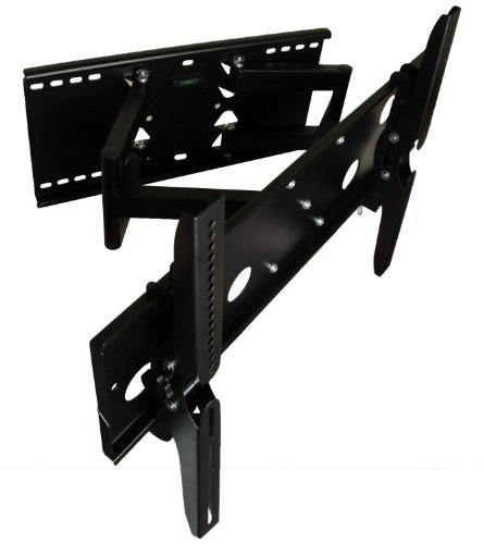 Mount-It! Mi-Daa0-80 Premium Series Heavy Duty Dual-Arm Articulating Wall Mount For 42 To 80 Inches Displays