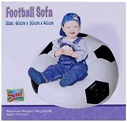 Suzi Football Sofa Balloon - Suzi (Black :White)
