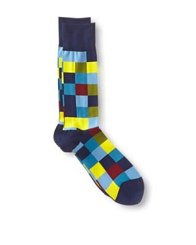Ozone Men's Checkerboard Socks- Singles