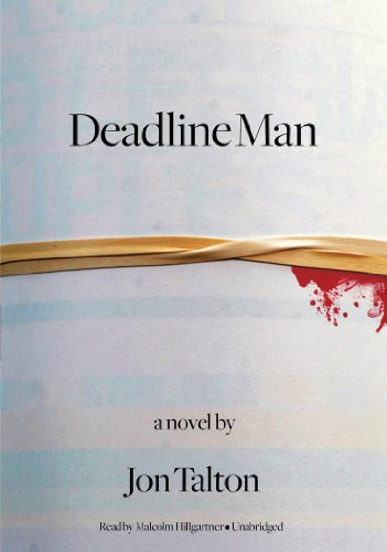 Deadline Man (Library Edition) (Poisoned Pen Press Mysteries)