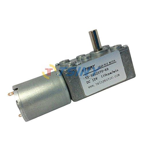 Tsiny Micro Reversible 12vdc Electric 110 Rpm Small Dc