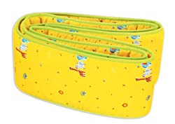 Owen Bumper Pad, (Yellow)