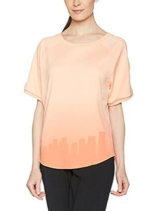 adidas Camiseta Manga Corta Btr T W (Naranja)