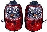TAIL LIGHT Right RH and Left LH Pair for TOYOTA 4Runner 4-Runner (2001-2002), Lamp Assembly, 2001 2002 01 02