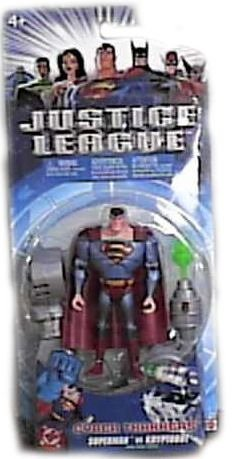Buy Low Price Mattel Justice League Cyber Trackers Supermen Action Figure (B000H4683C)
