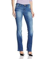 U.S.Polo Assn. Women's Slim Jeans (UWJN0168_Blue_X-Large)