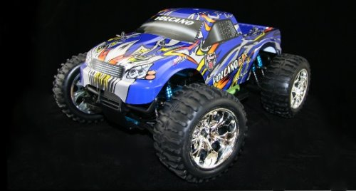 VOLCANO EPX PRO ~ Monster Truck ~ RC Brushless Electric ~ 2.4 GHz Radio ~ by Redcat Racing