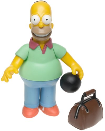 The Simpsons Wave 2 Action Figure Pin Pal Homer - 1