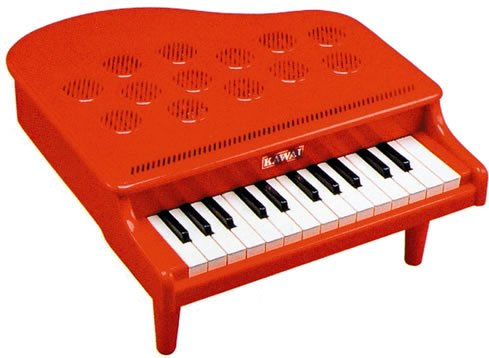 Mini piano P-25 (Red) 1107-2