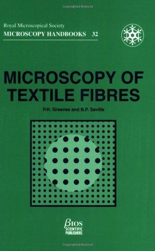 Microscopy Of Textile Fibres (Microscopy Handbooks)