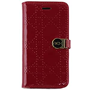 NEX Nexwallet 2-In-1 Stylish Wallet Case for iPhone 6 - Non-Retail Packaging - Red