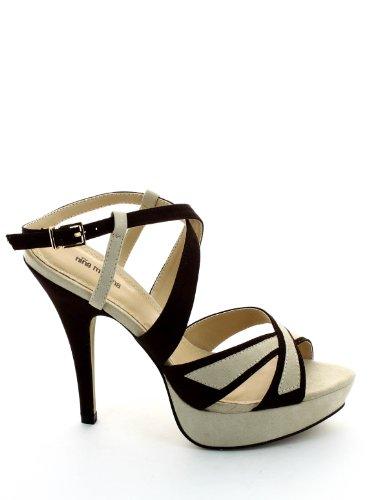 Nina Morena - Sandalo testa di moro nina morena, calzature donna, taglia: 39, colore: TESTA DI MORO