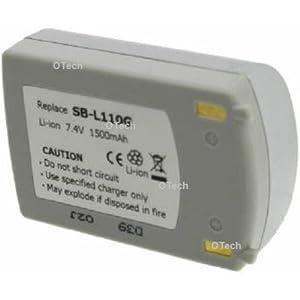 Otech C024VS Batterie pour Caméscope de type Samsung SB-L110G 7,4 V