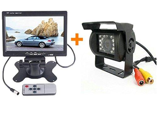 bw cran r troviseur pour voiture avec cam ra de recul sans fil. Black Bedroom Furniture Sets. Home Design Ideas