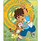 Childrens/Kids Boys Go Diego Go Fleece Blanket/Throw