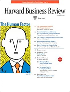 Harvard Business Review, June 2005 Periodical