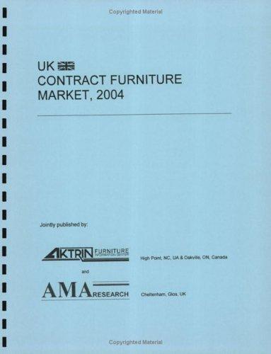 UK Contract Furniture Market, 2004