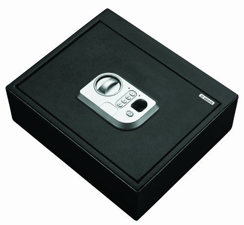 Stack-On PS-5-B Biometric Drawer Safe, Black