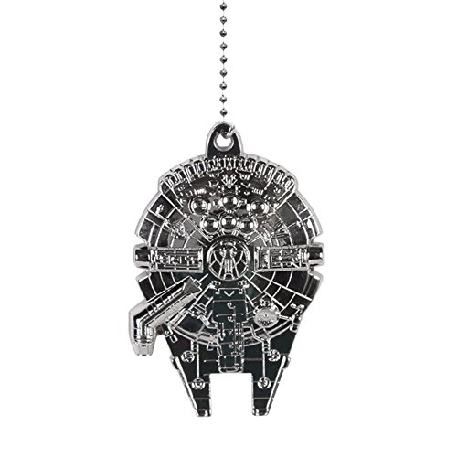 Star Wars Millennium Falcon Metal Fan Pull (Ceiling Fans For Boys Rooms compare prices)
