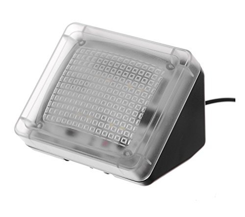 AGPTek® LED TV Simulator, Fernseh Attrappe-Fake, Einbruchschutz, Home Security, Lichtsensor und Timer, 3 Programme wählbar, 20 farbige LEDs - 4