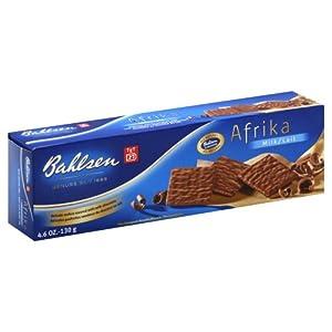 Bahlsen Afrika Milk, 4.6 oz(Pack of 6)