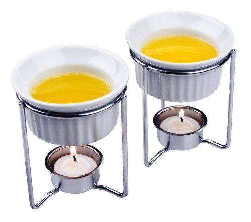 Fox Run Ceramic Butter Warmers, Set of 2