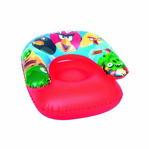 "Bestway Toys Domestic Angry Birds Child Chair, 30 x 30"" - 1"