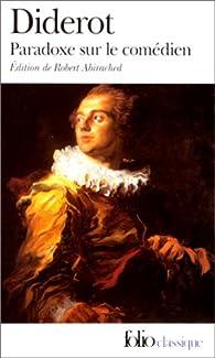 Paradoxe sur le com�dien par Denis Diderot
