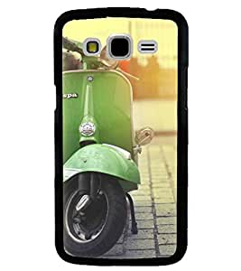 Printvisa Vintage Scooter Pic Back Case Cover for Samsung Galaxy J5::Samsung Galaxy J5 J500F