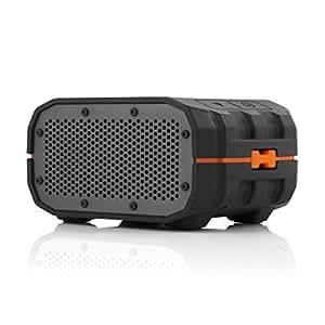 BRAVEN BRV-1 Wireless Bluetooth Speaker [Waterproof][12 Hour Playtime] - Black/Orange