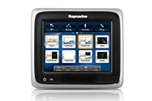Raymarine a65 Multifunction Navigation Display with No Preloaded Charts, 5.7-Inch by Raymarine