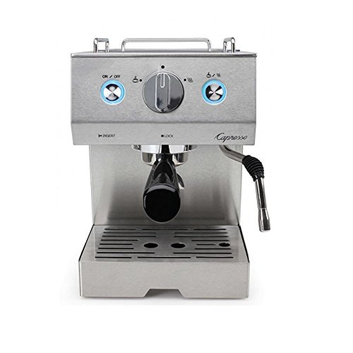 Capresso 125.05 Cafe Pro Espresso Maker, Silver