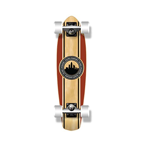SlimKick mini blank and Graphic Longboard Complete Skateboard Cruise Vintage Style 25