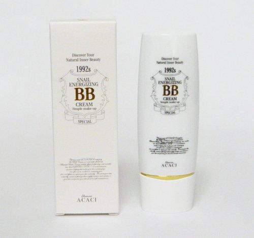 CHAMOS ACACI マルチ機能性BBクリーム SNAIL ENERGIZING & BB CREAM 50ml