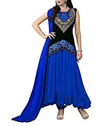 Jiya Women Net Dress(BTMDSZ907 ,Blue)