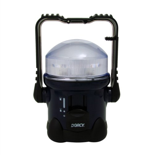 Dorcy 41-1019 Portable Dual Focusing Led Area Lamp Light With Multi-Purpose Handle, 40-Lumens, Dark Green Finish
