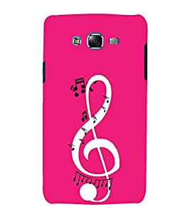Music is my Life 3D Hard Polycarbonate Designer Back Case Cover for Samsung Galaxy J7 (2015) :: Samsung Galaxy J7 J700F (Old Version)