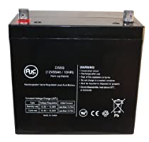 Pride Mobility Z Chair 12V 12Ah Wheelchair Battery This is an AJC Brand Replacement