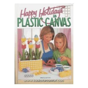 Happy Holidays in Plastic Canvas