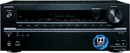 Lowest Prices! Onkyo TX-NR636 7.2-Ch Dolby Atmos Ready Network A/V Receiver w/ HDMI 2.0
